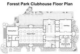 Clubhouse Floor Plans  Club House Plan House Floor Plans   VAlineGolf Course Clubhouse Floor Plans