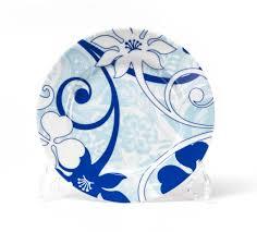 Купить <b>Набор десертных тарелок Bleu</b> Sky, 6 шт., 19 см, фарфор ...