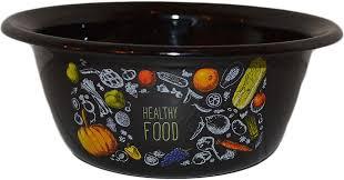 <b>Миска Appetite Healthy Food</b>, 1с5с, черный, 800 мл — купить в ...