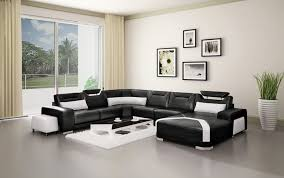 living room sofa ideas: full size of living room couches in elegant theme with sectional made of black and white