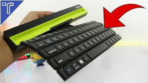 Best <b>Foldable Bluetooth Keyboard</b> 2018! - YouTube
