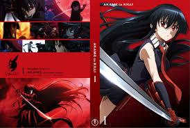 Akame ga Kill Vol. 1 Blu ray Japan