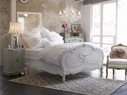 shabby chic bedroom ideas carved bed crystal chandelier bedroom ideas shabby chic