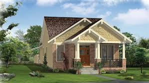 Bungalow Home Plans   Bungalow Style Home Designs from HomePlans com Bedroom Craftsman Bungalow Home Plan HOMEPW