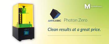 Introducing the Brand <b>New Photon Zero</b> by <b>Anycubic</b> ...