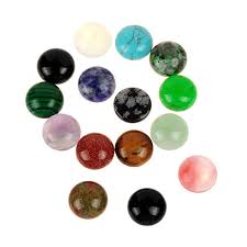 <b>10pcs</b> Pick Size 8mm <b>10mm 12mm</b> Half Round Flat Back Mixed