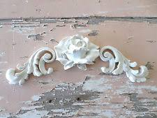 shabby chic rose architectural furniture appliques new onlays moldings appliques for furniture