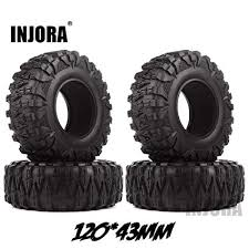 4PCS 2.2 Rubber Mud Grappler Tires for 1:10 RC ... - Amazon.com