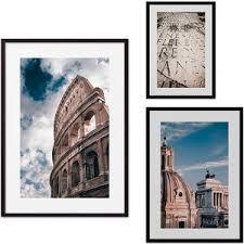 <b>Набор из 3-х постеров</b> Дом Корлеоне Коллаж Рим №13 30х40 см ...
