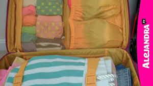 How to <b>Pack</b> a <b>Suitcase</b> for Organized <b>Travel</b> - YouTube