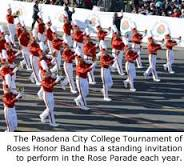 2017 Rose Parade marching band selections emerging