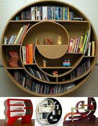 Image result for fancy bookshelf designs