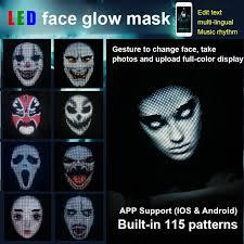 Programmable <b>LED</b> mask automatic interactive switch <b>LED</b> ...