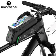 <b>Bike Bicycle Cycling</b> Waterproof <b>Phone</b> Tube Case <b>Bag</b> Front Top ...