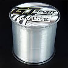 Shop 500M <b>Nylon Line</b> Monofilament Clear <b>Super Strong</b> GT Sport ...