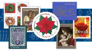 US Postal Service Presents the 2019 Holiday <b>Stamps</b> - Postal Posts