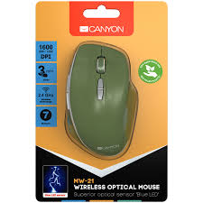 Canyon 2.4 GHz <b>Wireless mouse</b> ,with 7 buttons, DPI 800/1200 ...