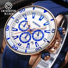 <b>OCHSTIN</b> 2019 Fashion Sports Watch <b>Men</b> Silicone Strap ...