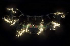 <b>Комплект гирлянды</b> 5x20 м. 665 тепло-белых LED-ламп, черный ...
