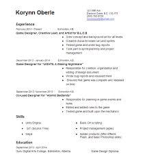 resume and bio   korynn oberle game designerpicture