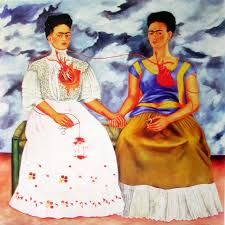 feminist artist mikelitorisfap frida kahlo the two fridas art is the mirror of man and w