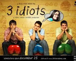 cinema no bollywood em 3 idiots os 3 idiotas