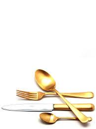 <b>Набор столовых приборов</b> ATLANTICO GOLD мат. н-р 24 пр ...