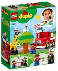 Купить <b>Конструктор LEGO Duplo</b> 10901 <b>Пожарная</b> машина по ...