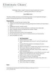 social media marketing resume template resume social media marketing resume sample