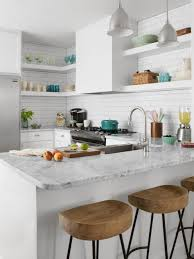 White Kitchen For Small Kitchens Small Space Kitchen Remodel Hgtv