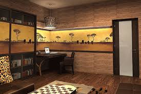 room decorating ideas african