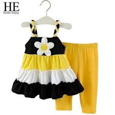 2019 Wholesale <b>HE Hello Enjoy</b> Grils Clothes Baby <b>Girl</b> Clothes Set ...