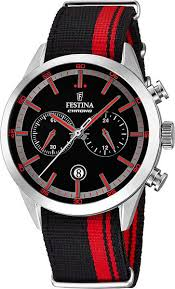 <b>Мужские</b> наручные <b>часы Festina F16827</b>/<b>4</b> кварцевые