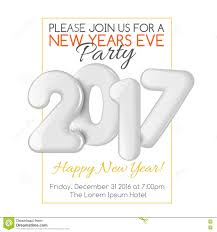 merry christmas and happy new year party invitation template merry christmas and happy new year 2017 party invitation template royalty stock images