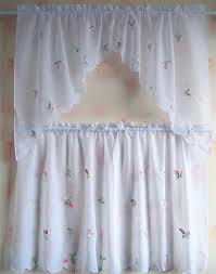 embroidered kitchen curtains tier