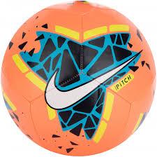 <b>Мяч футбольный Nike Pitch</b> оранжевый/синий цвет — купить за ...