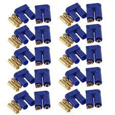 60pc 10 <b>Pairs EC5 Device</b> Connector Plug 5mm Banana plug for ...