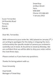 example of a formal business letter  cover letter templates