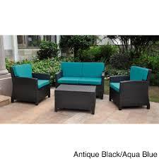 patio chair cushions blue