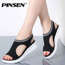 PINSEN <b>Women</b> Sandals <b>2019</b> New <b>Female Shoes Woman</b> ...