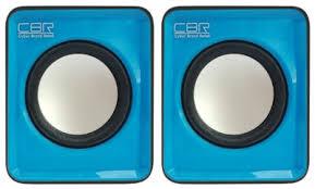 <b>Колонки CBR CMS 90</b>, Blue 2.0 (суммарно 3 Вт) • Корпус: пластик ...