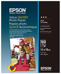 <b>Epson</b> C13S400039 <b>Value Glossy фотобумага</b> 10x15, 100 листов ...