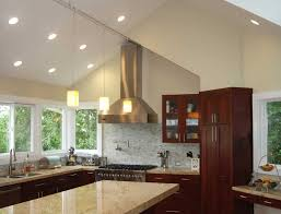 best lighting for cathedral ceilings. downlights for vaulted ceilings with stunning cathedral ceiling kitchen lighting best o
