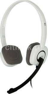 Купить <b>Гарнитура LOGITECH H150</b>, белый в интернет-магазине ...