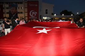 Erzurum'da yürüyüş Atatürk Üniversitesi'nden