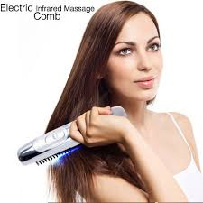 Portable <b>Electric</b> Ionic Hairbrush <b>Electric</b> Wireless Infrared Ray ...