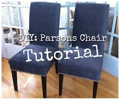 Dining Room Chair Reupholstery 1000 Images About Chair Reupholster On Pinterest Parsons Chairs
