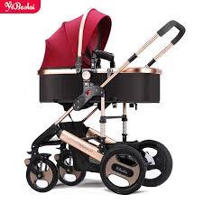 Babyfond Luxury baby <b>stroller 2</b> in 1 <b>high landscape</b> Carriage <b>Two</b> ...