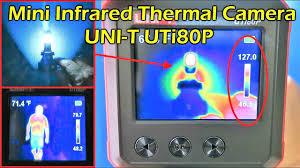 <b>Mini</b> Infrared <b>Thermal Camera</b> Review <b>UNI</b>-<b>T</b> UTi80P - YouTube
