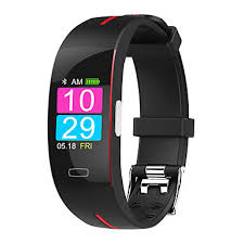 <b>P3A</b> Smart Band Watch With Remote Care ECG Temperature Blood ...